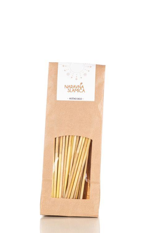 Natural drinking straws (long)