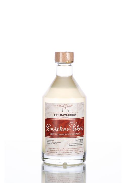 Spruce top liqueur, Pri Kovačniku