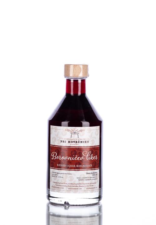 Blueberry liqueur, Pri Kovačniku