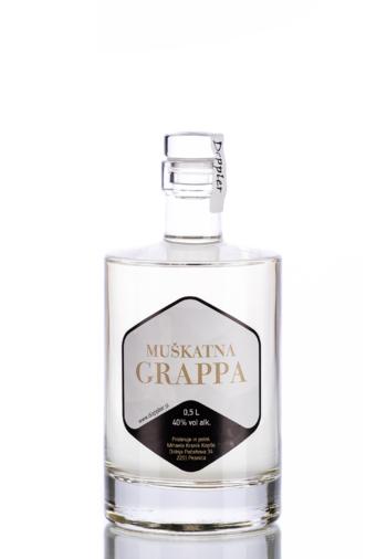 Muscat pomace brandy, Doppler