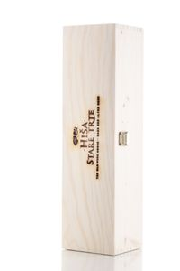 Exclusive wooden box for wine bottle