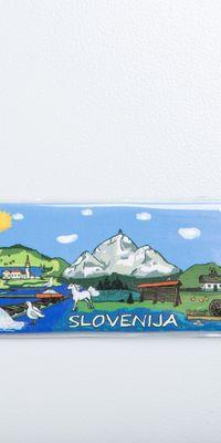 """Magnet ploščica """"Slovenija"""""""