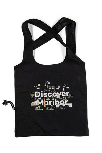 Discover Maribor black bag