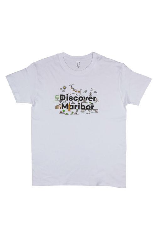 T-shirt Discover Maribor (man)