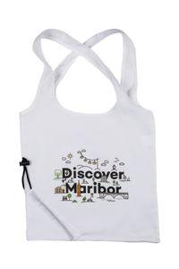 Discover Maribor white bag